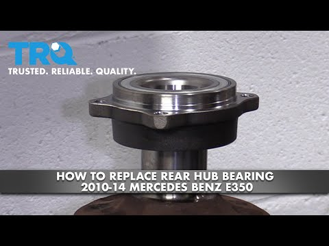 How to Replace Rear Hub Bearing 10-14 Mercedes-Benz E350