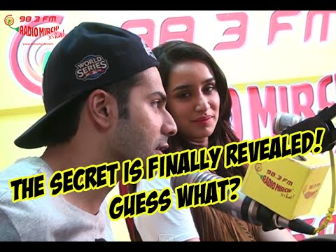 Revealed - Varun Dhawan is Shraddha Kapoor's first crush | ABCD 2 @ Mirchi Studio