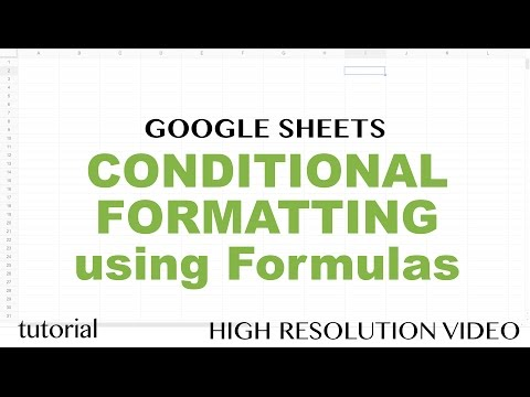 Google Sheets - Conditional Formatting Based on Another Cell