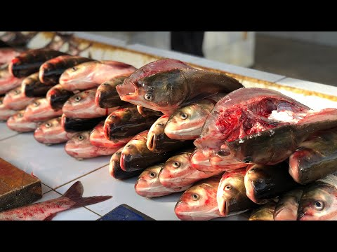 Как жарят рыбу узбеки.Узбекистан.