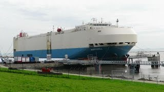 car carrier MARTORELL HPNE IMO 9267675 Emden roro cargo ship merchant vessel Autotransporter