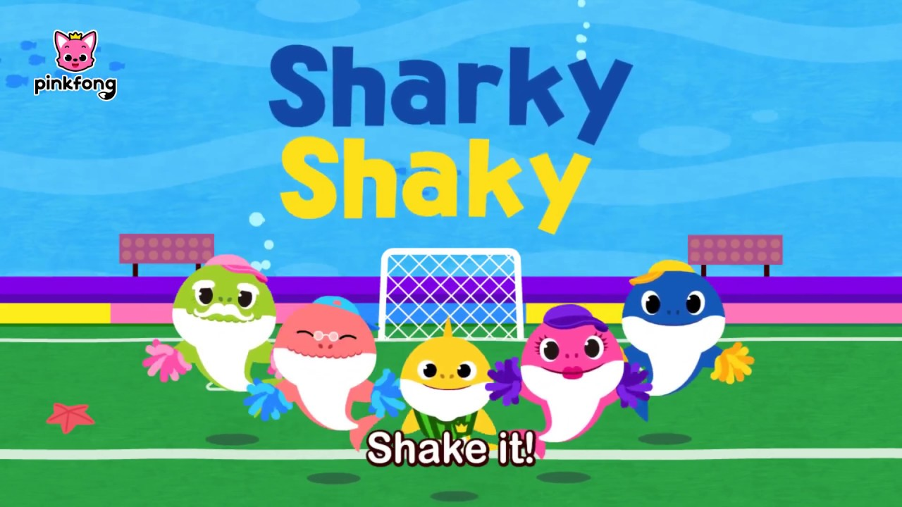 Sharky Shaky Sing Along with Baby Shark Pinkfong Songs for ...