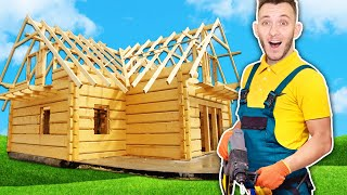 DOSTAVĚL JSEM SVŮJ PRVNÍ DŮM? | House Builder #2