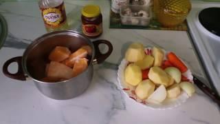 Еда: Полезно, вкусно, просто. Суп пюре из тыквы.