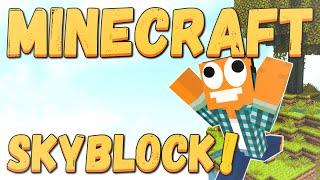"Minecraft Skyblock #01 - ""Początki są trudne!"""