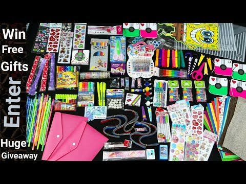 Huge Craft and Stationery Giveaway