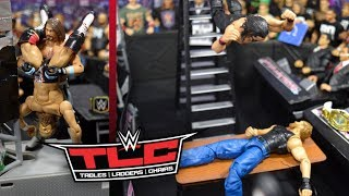 WWE ACTION FIGURE SETUP! TLC 2018 EDITION!