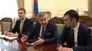 ՀՀ փոխվարչապետն ընդունեց «Ռենկո» ընկերության գլխավոր գործադիր տնօրենին