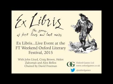 Ex Libris...Live!