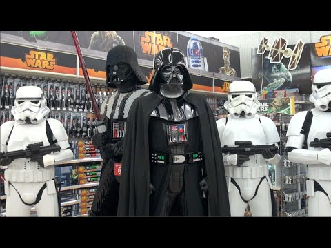 Launch Of Destination Star Wars At Toys R Us Youtube