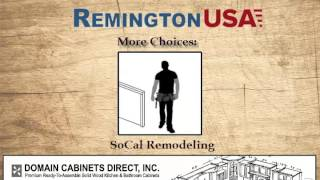 Remington USA semi Custom Cabinet Doors, Drawers & Plywood Cabinet Boxes