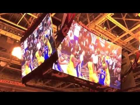 Cleveland Cavaliers Opening Night 2015/2016 Introduction