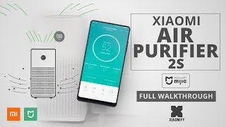 Xiaomi Smart Air Purifier 2S (compared with other models)