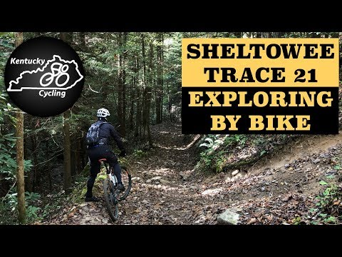 Kentucky Cycling Ride Video: Sheltowee Trace Section 21, Exploring By Bike