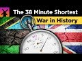 Why the Shortest War in History Lasted 38 Minutes