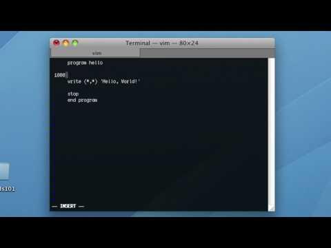 GNU Fortran | Lesson 1