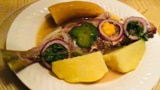 How to make Haitian Stew Fish (Pwason Gros Sel)