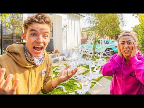 DESTROYING LIZZY'S NEW HOUSE!! (Gone Wrong)
