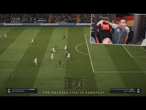 FIFA 18 - REACCIONANDO AL PRIMER GAMEPLAY OFICIAL DE FIFA 18 - 동영상