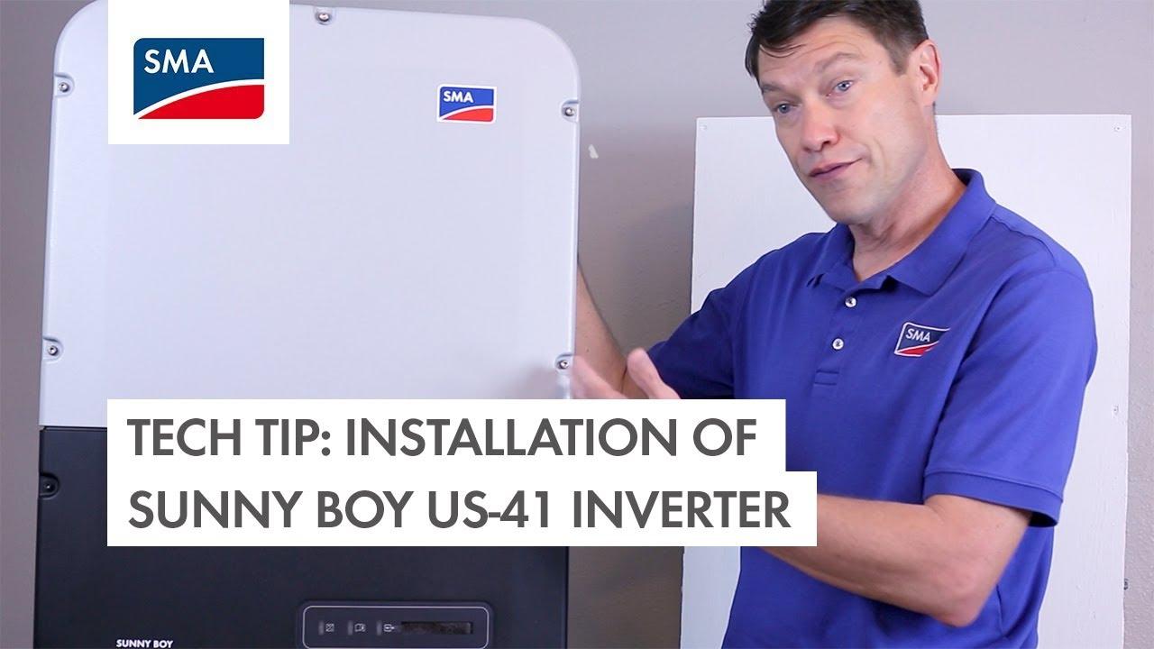 Download Installation of Sunny Boy US-41 Inverter