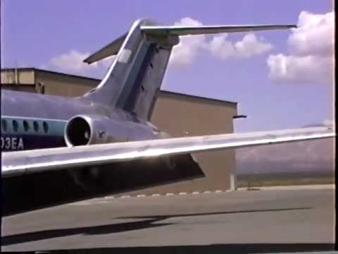 Eastern Air Lines DC-9-51 Arriving at Mojave