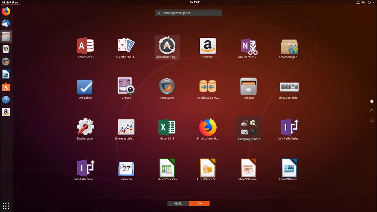 Playonlinux und Crossover +MS office 2013 installation auf Ubuntu 18 04