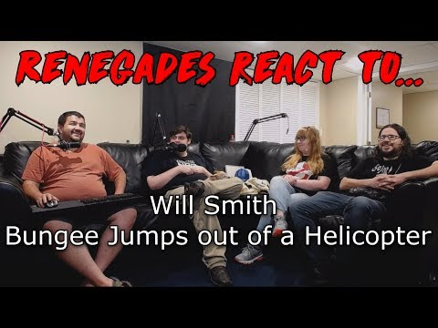 Renegades React to... Will Smith Bungee Jumps out of a Helicopter