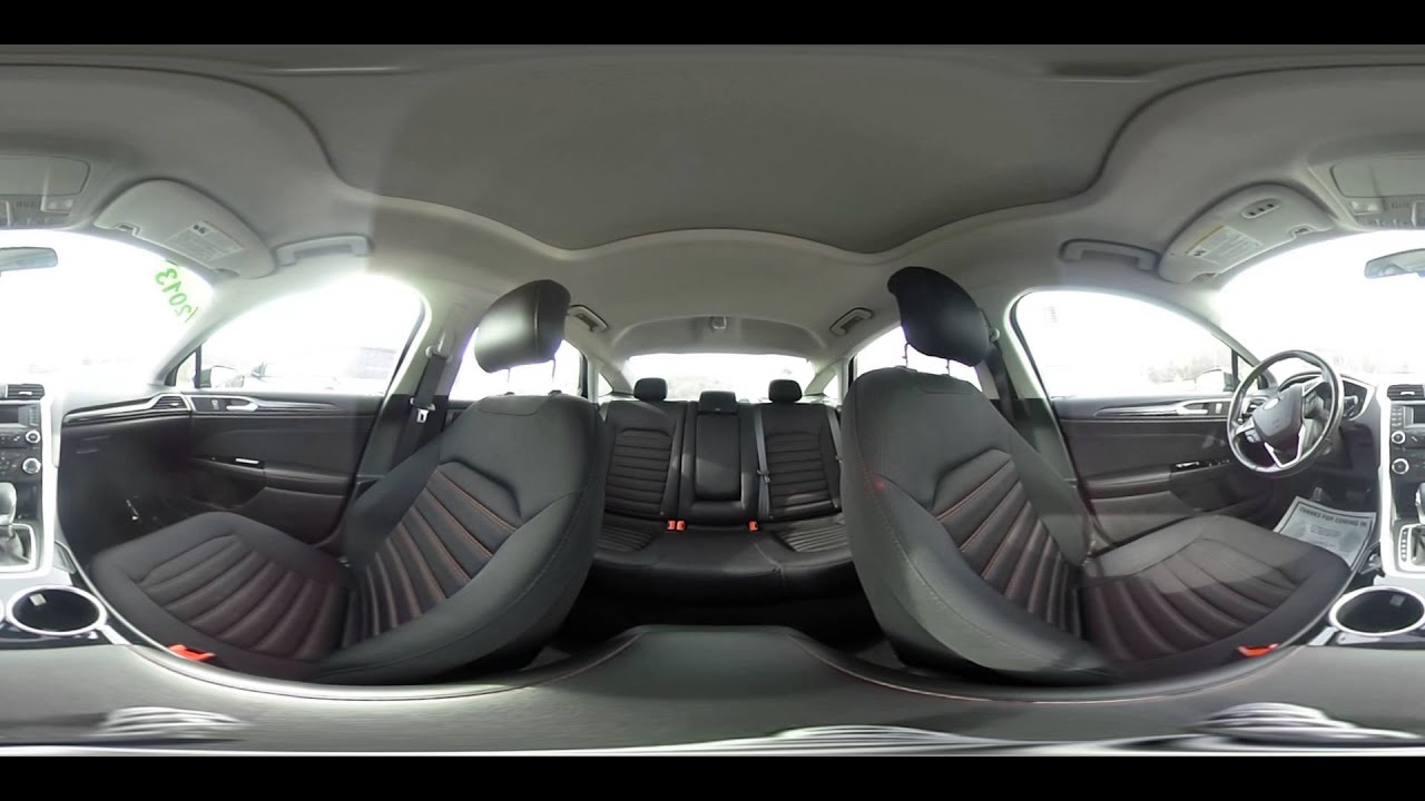 Delightful 2013 Ford Fusion SE | Interior 360 Degree Walkaround