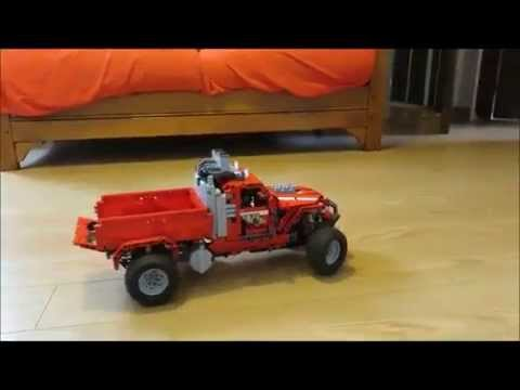 lego technic pick up truck youtube. Black Bedroom Furniture Sets. Home Design Ideas
