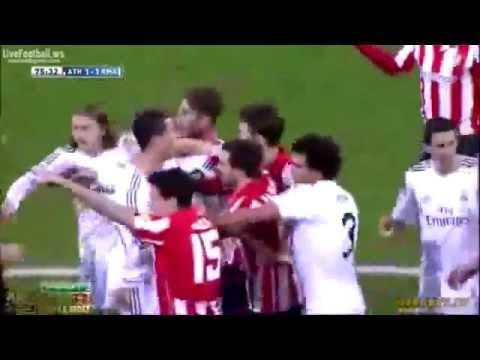 Cristiano Ronaldo Red Card vs Athletic Bilbao ~ Real Madrid vs Athletic Bilbao 1 1 TARJETA ROJA