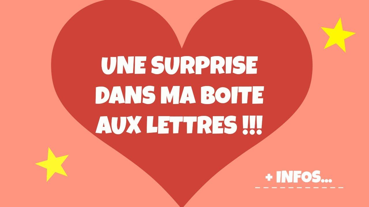 Une surprise dans ma boite aux lettres laura youtube - Boite aux lettres domotique ...