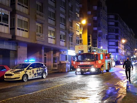 Rescatan a un hombre de avanzada edad que se cayó en su casa en la Saínza