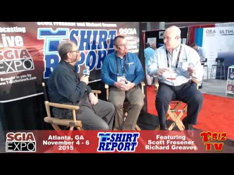 T-Shirt Report SGIA 2015 - Interview with SaatiPrint