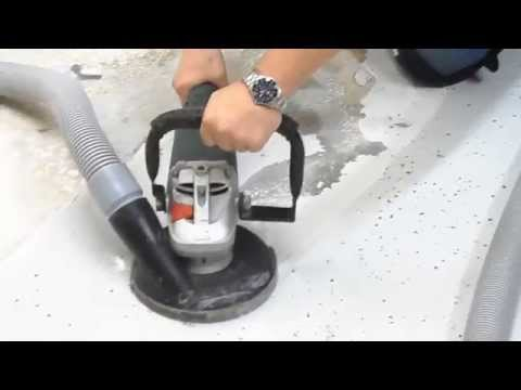 U S  Saws' Hand-Held Concrete Grinders - YouTube
