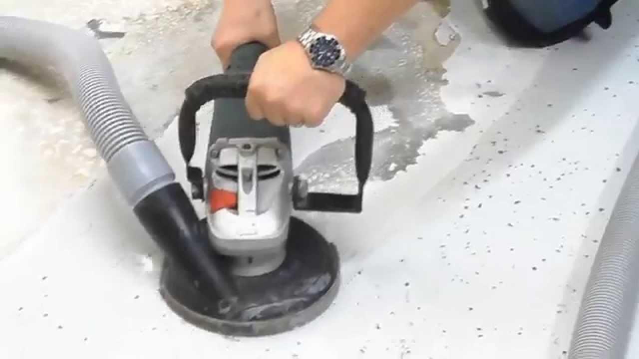 U S Saws Hand Held Concrete Grinders Youtube