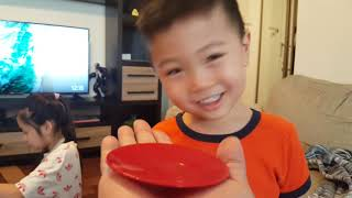 Family learning fun, unboxing kitchen set, then fun time!!!