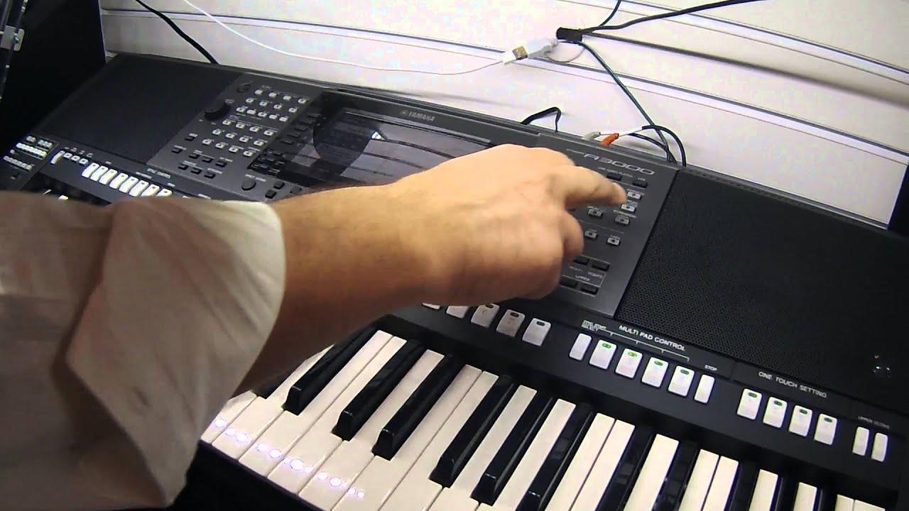 Namm 2016 yamaha psr a3000 arranger keyboard youtube for Yamaha a3000 keyboard
