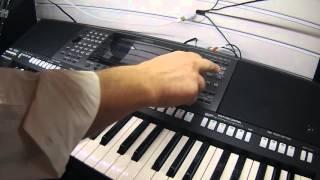 NAMM 2016 Yamaha PSR-A3000 Arranger Keyboard