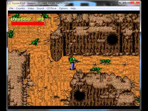 It Came From The Desert Mega Drive Genesis Longplay Youtube