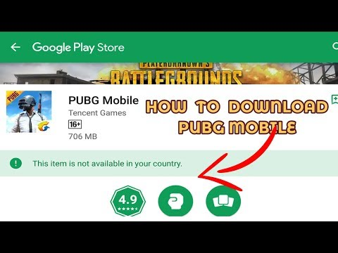 HOW TO DOWNLOAD PUBG MOBILE FOR ANDROID  ! - YouTube
