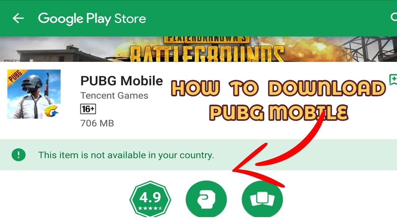 HOW TO DOWNLOAD PUBG MOBILE FOR ANDROID  !