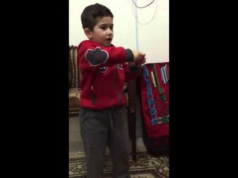 نجم النسمات البطل محمد ينشد ايام الاسبوع سبعة - YouTube