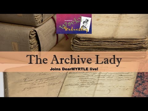 The Archive Lady: Genealogy Surprises and Discoveries