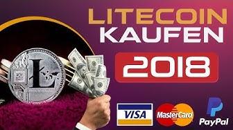 Litecoin Kaufen 2019   Wie Litecoin KAUFEN   KreditKarte   PayPal  