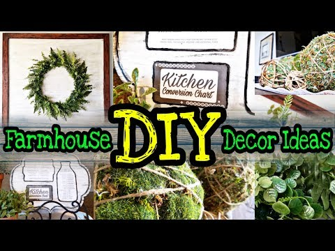 DIY Farmhouse Decor On A Budget