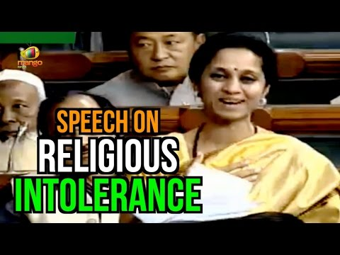 MP Supriya Sule Excellent Speech On Religious Intolerance In Parliament | I'm Ashamed