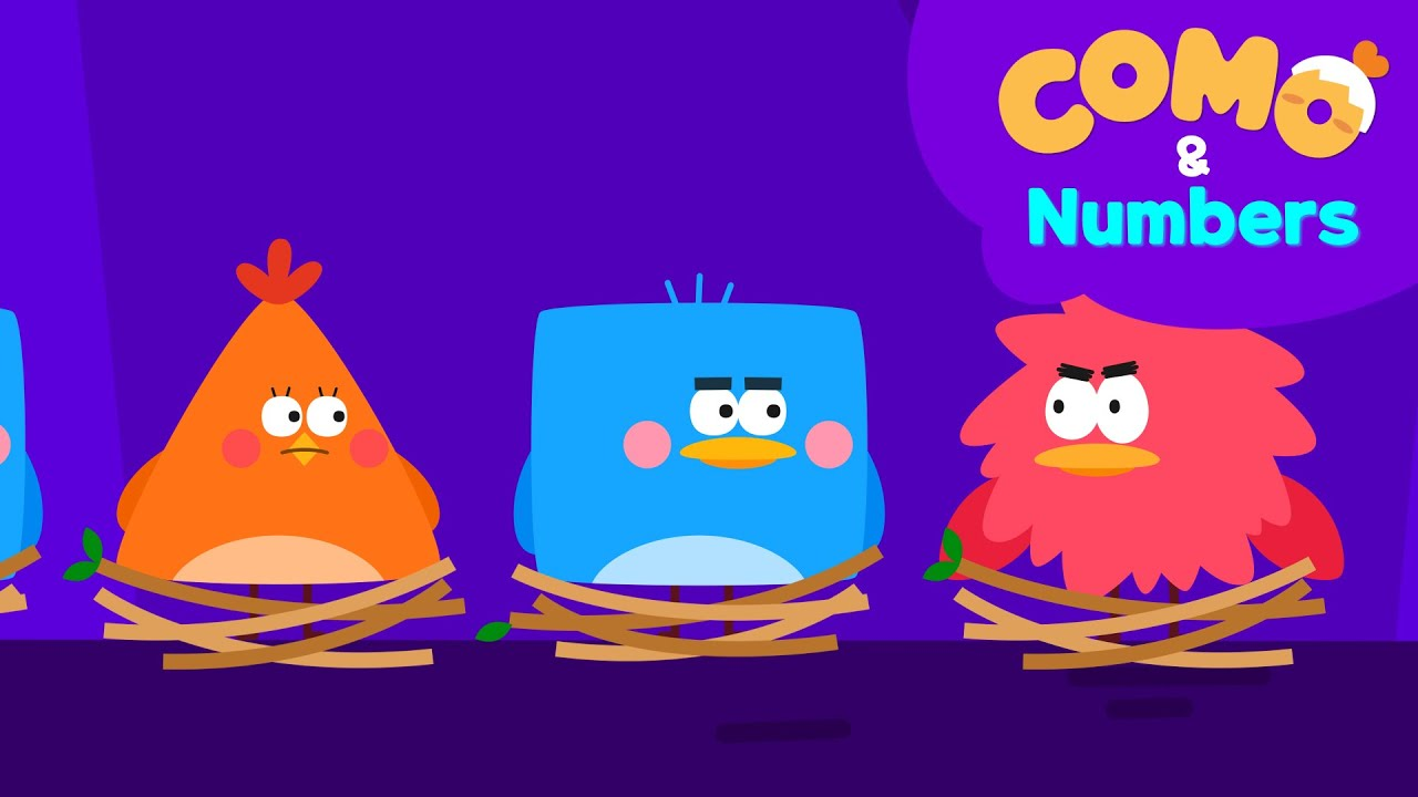Como and Numbers   Kid's Math   Can You Solve The Pattern?   Patterns for Kids