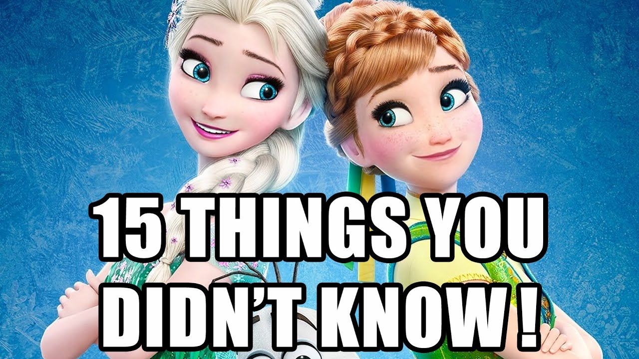 15 Things You Didn't Know About Frozen Fever - YouTube