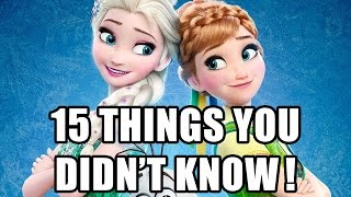Video 15 Things You Didn't Know About Frozen Fever download MP3, 3GP, MP4, WEBM, AVI, FLV Agustus 2018