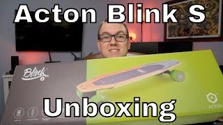 Acton Blink S Electric Skateboard Unboxing and Initial Impressions